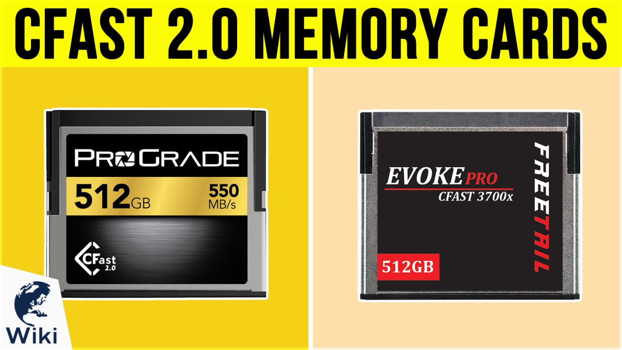 9 Best Cfast 2.0 Memory Cards