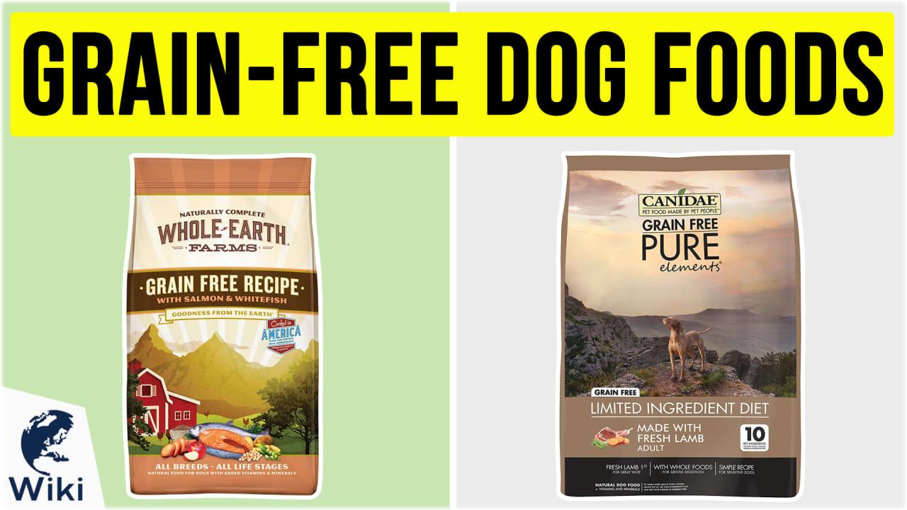 10 Best Grain-Free Dog Foods