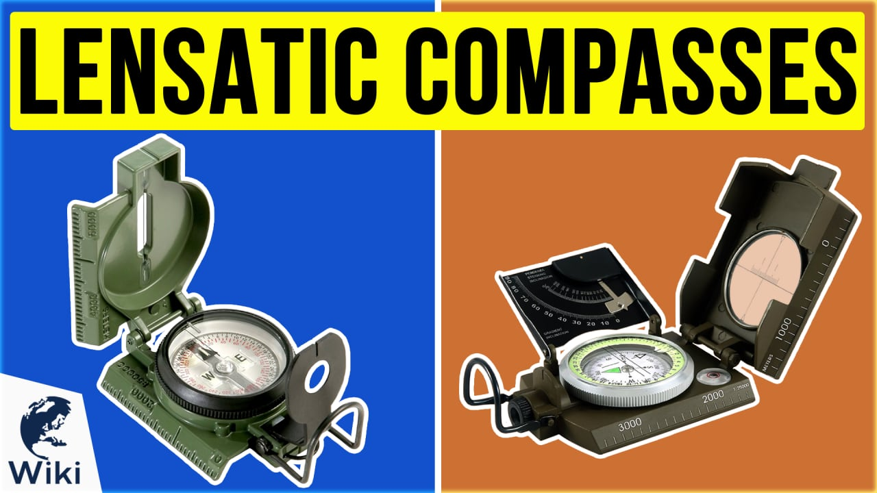 9 Best Lensatic Compasses