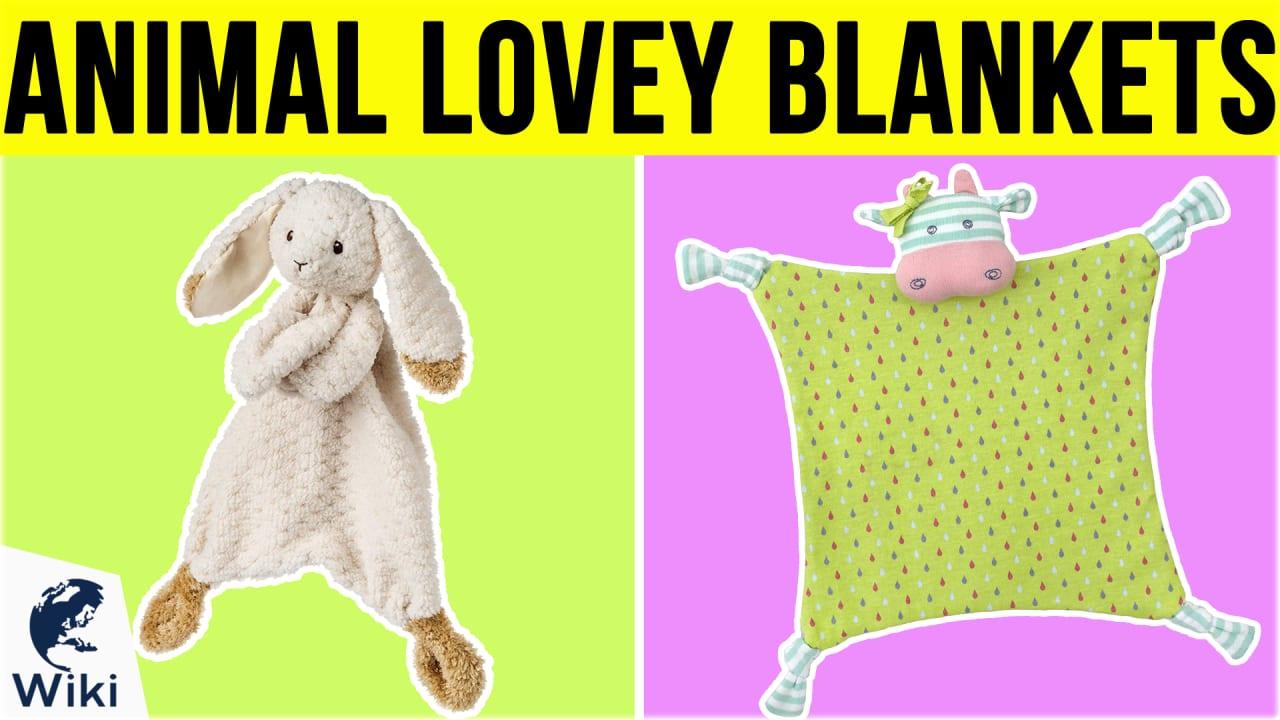 9 Best Animal Lovey Blankets