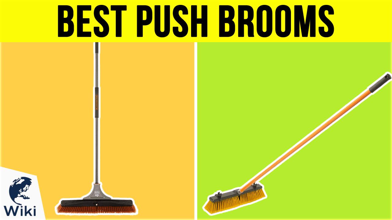10 Best Push Brooms
