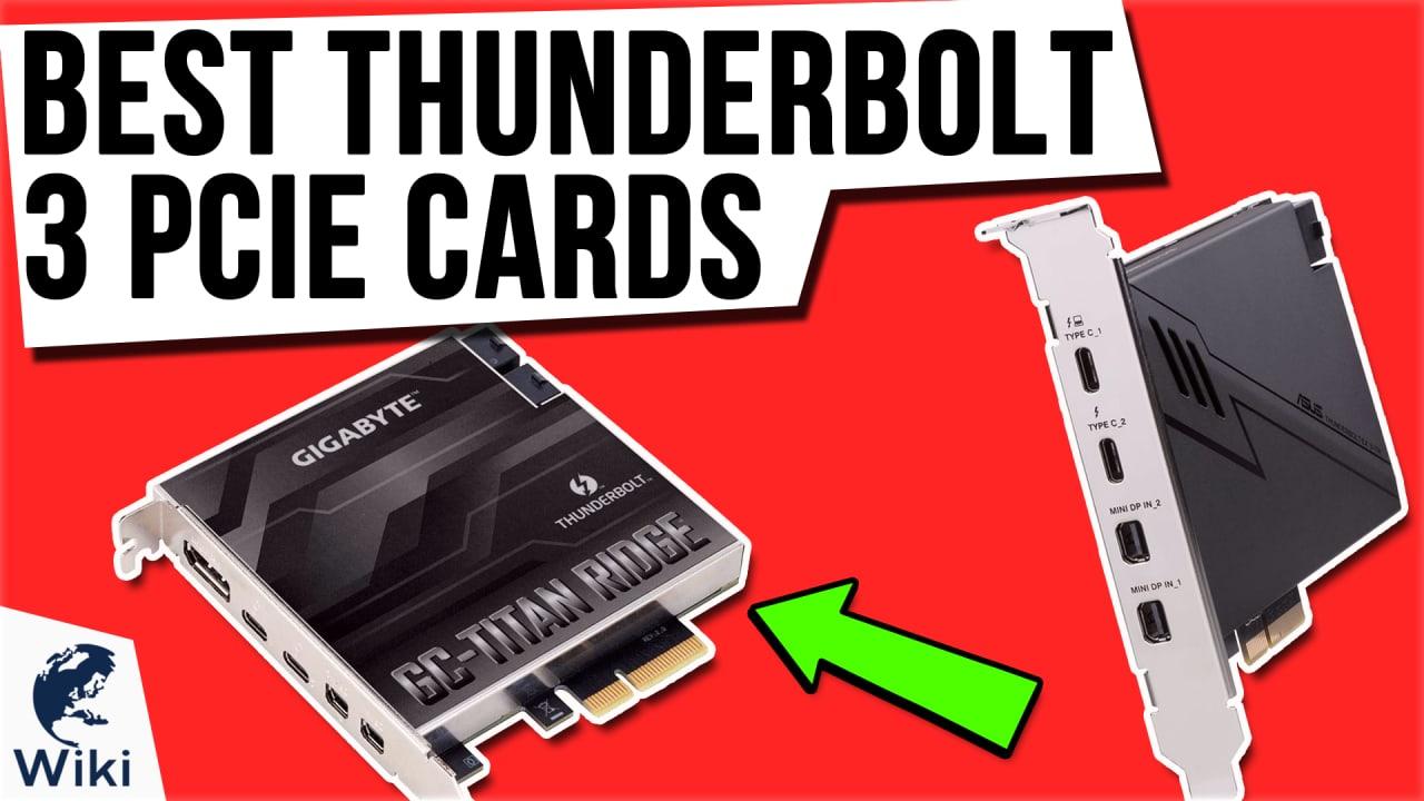 6 Best Thunderbolt 3 PCIe Cards