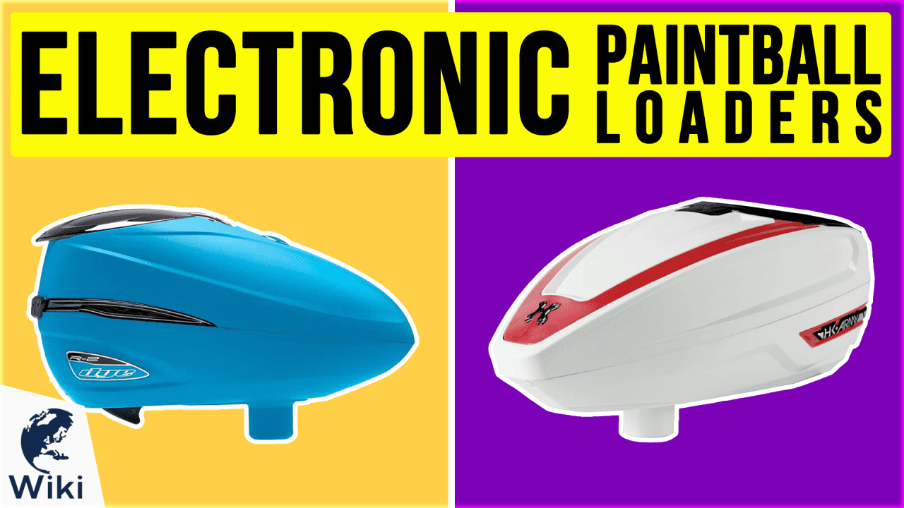 8 Best Electronic Paintball Loaders