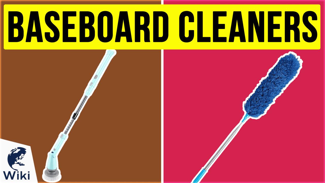 10 Best Baseboard Cleaners