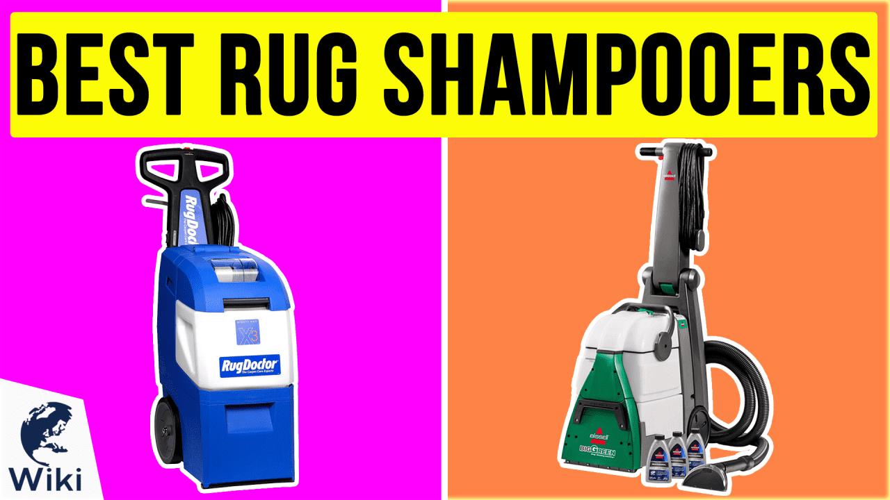 10 Best Rug Shampooers