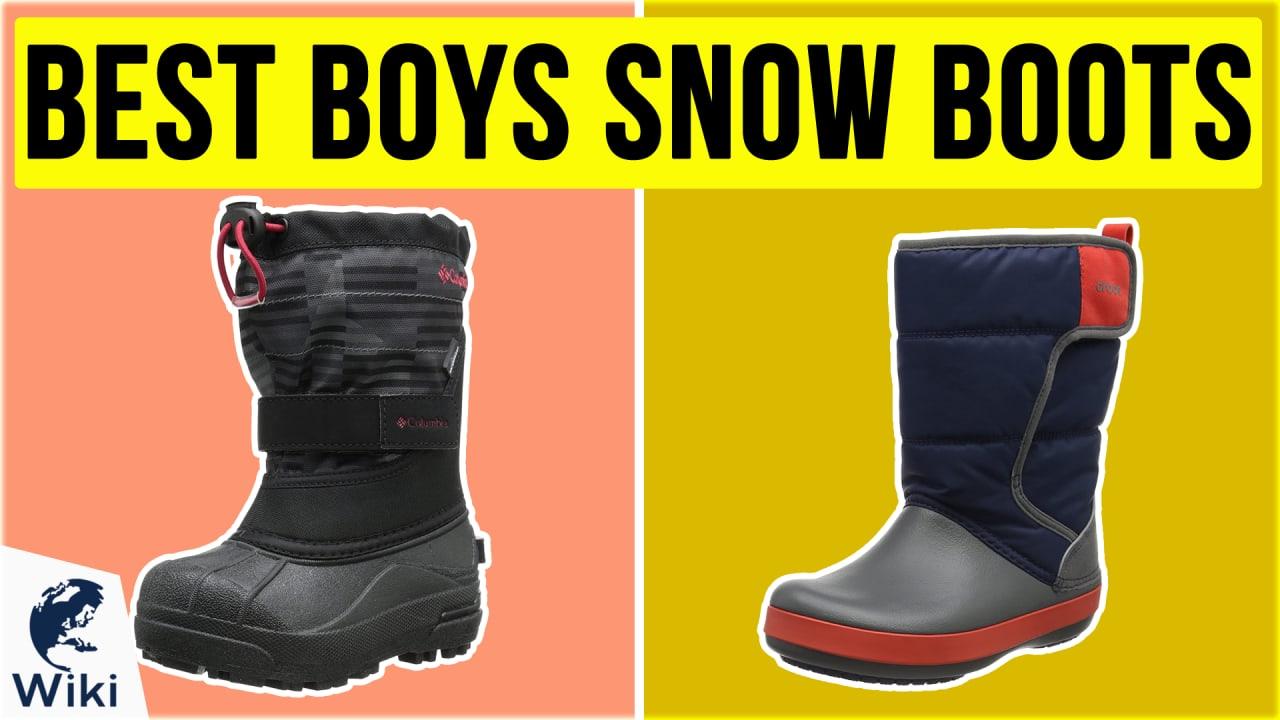 10 Best Boys Snow Boots
