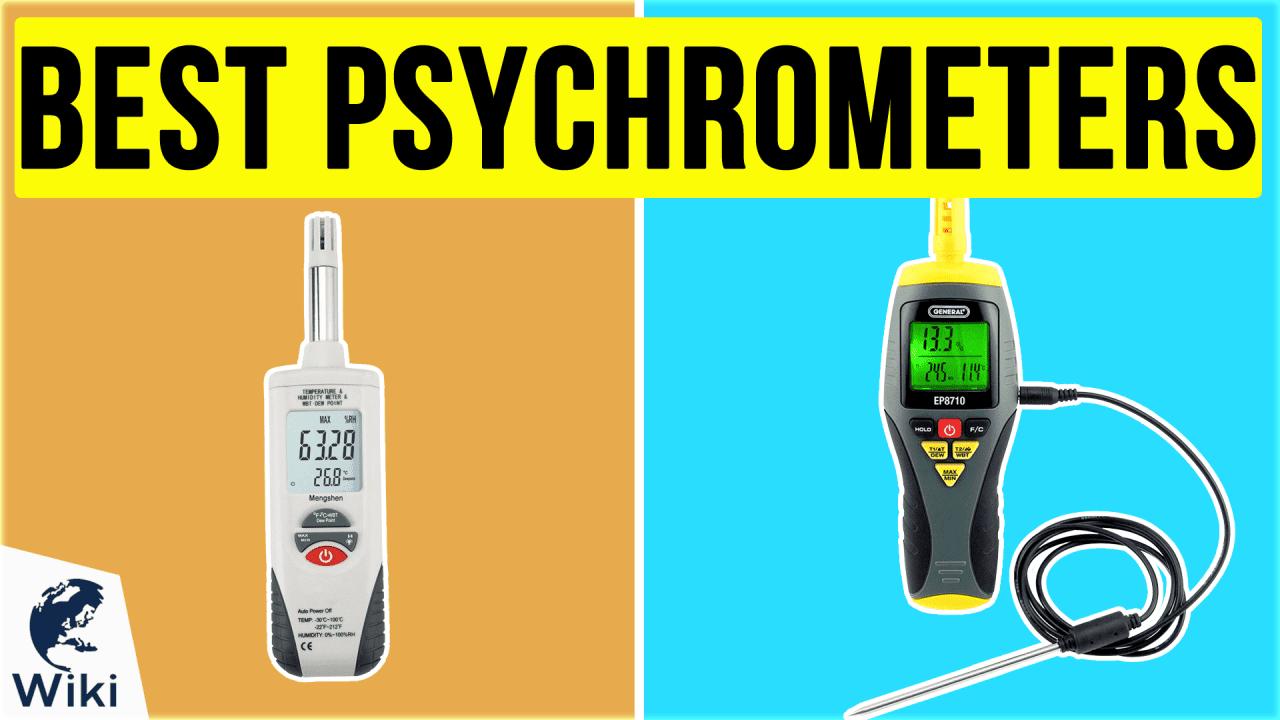 10 Best Psychrometers