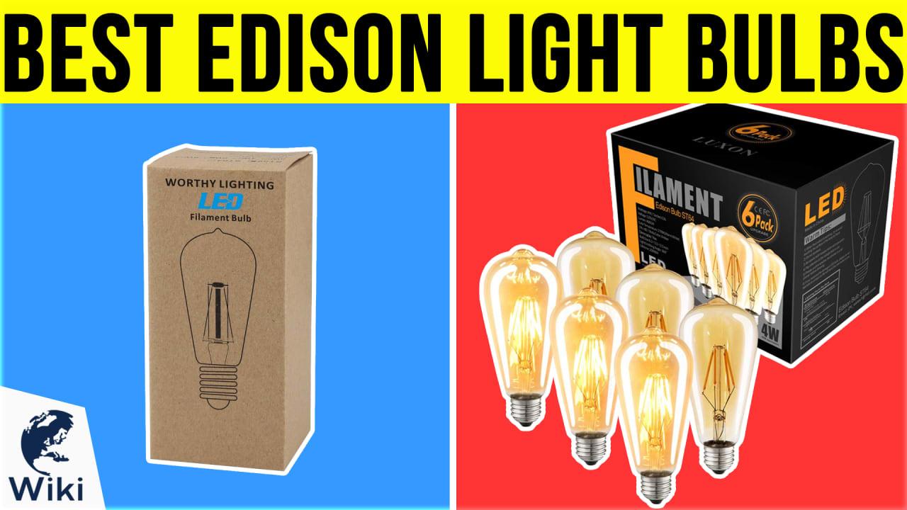 8 Best Edison Light Bulbs