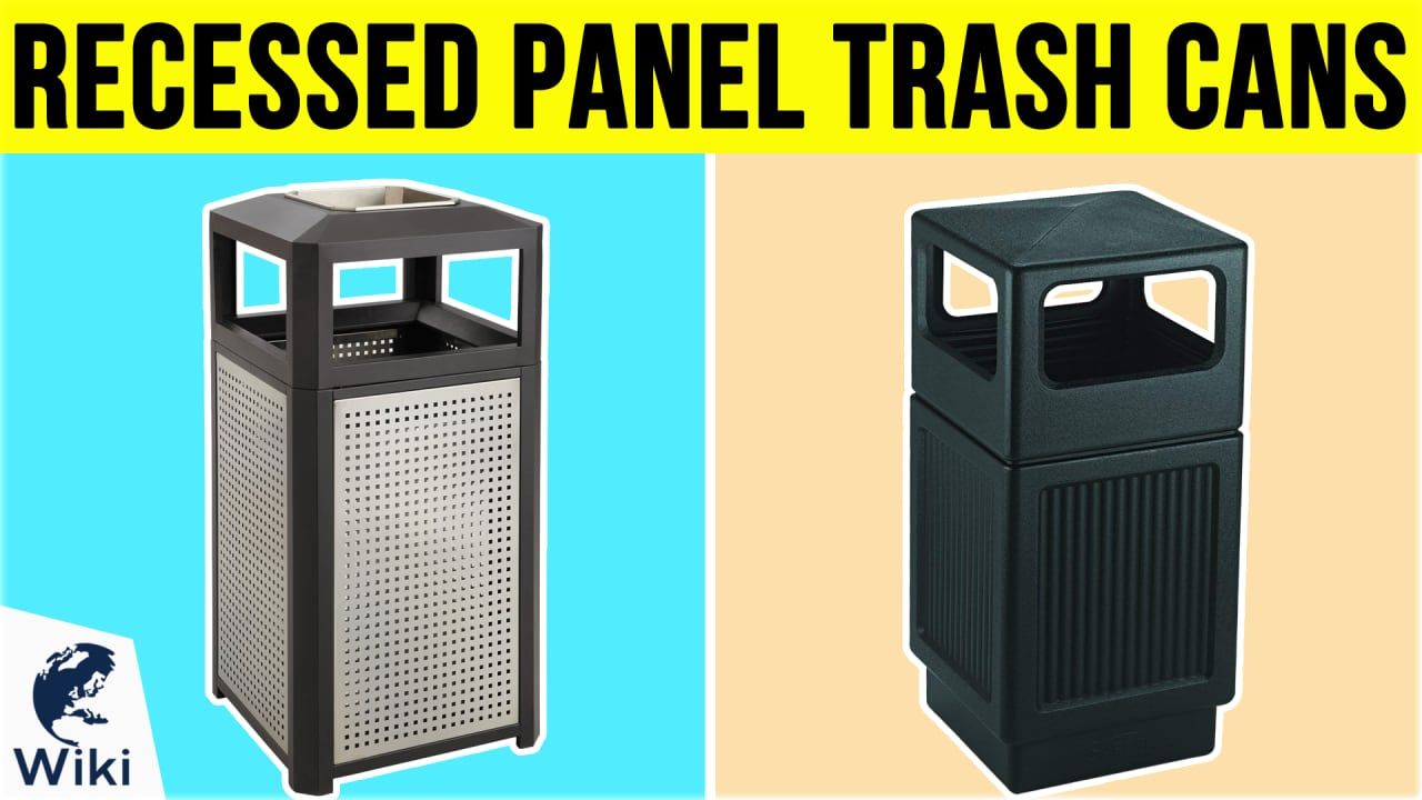 6 Best Recessed Panel Trash Cans