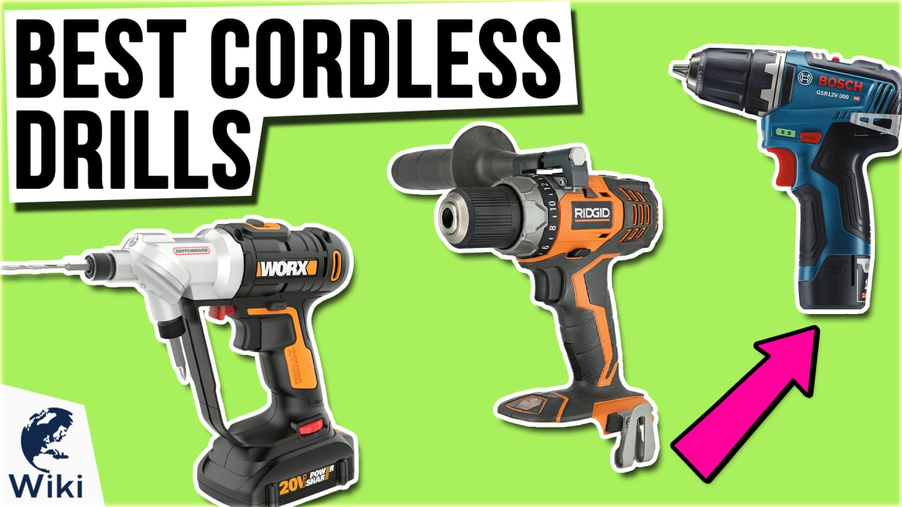 10 Best Cordless Drills