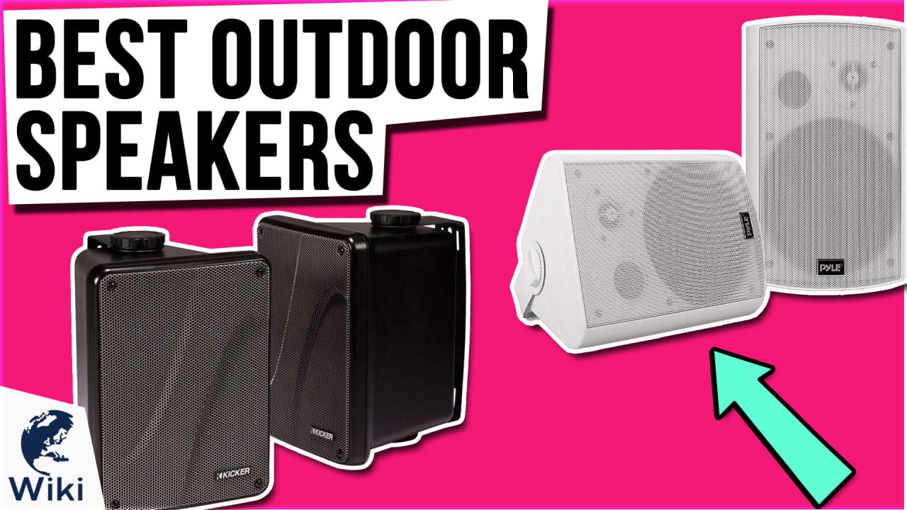 10 Best Outdoor Speakers