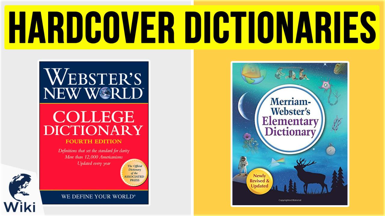 10 Best Hardcover Dictionaries