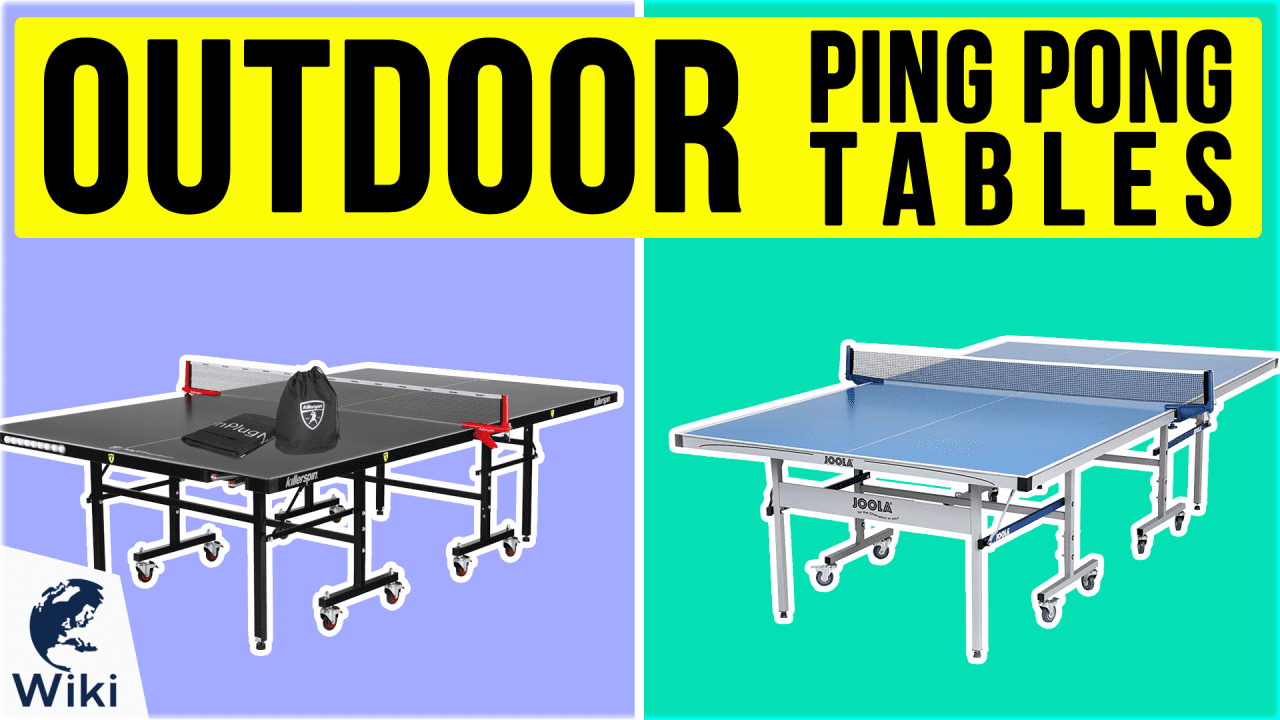 10 Best Outdoor Ping Pong Tables
