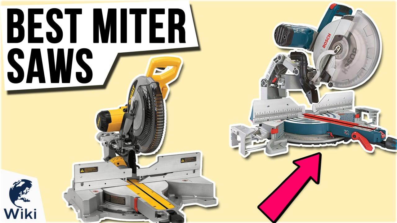 10 Best Miter Saws