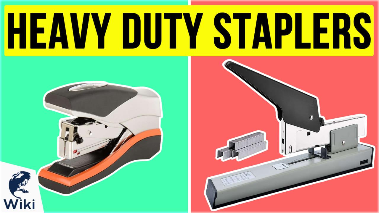 10 Best Heavy Duty Staplers