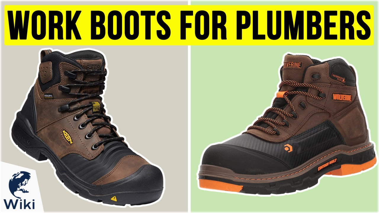 10 Best Work Boots For Plumbers