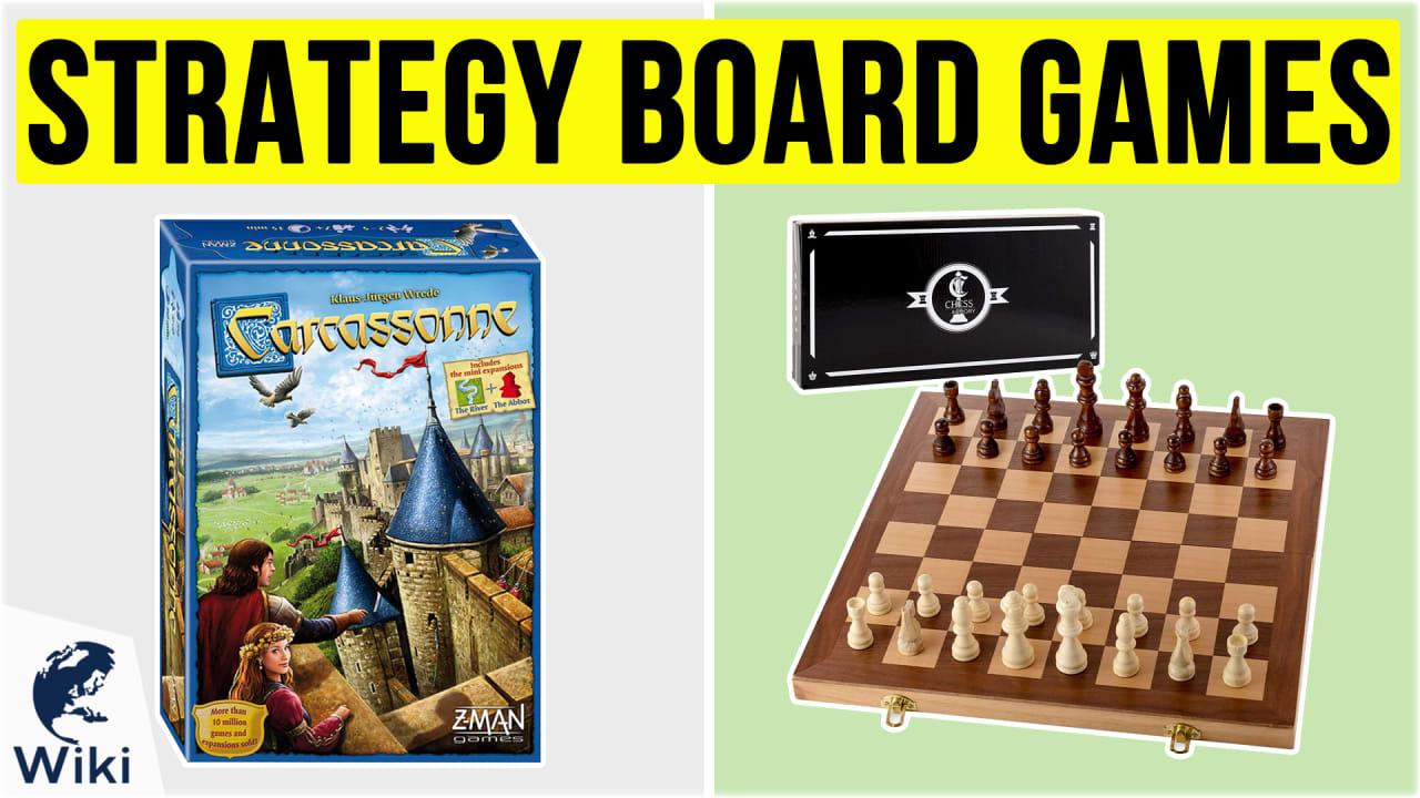 10 Best Strategy Board Games