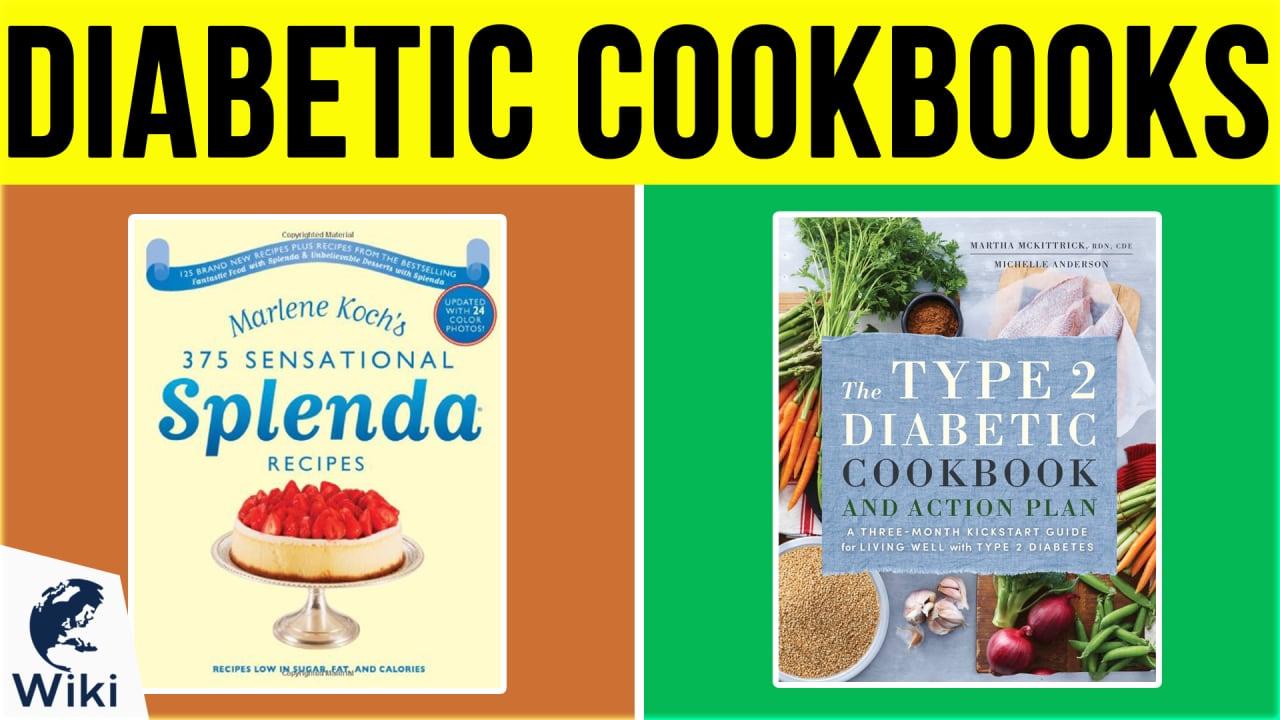 10 Best Diabetic Cookbooks