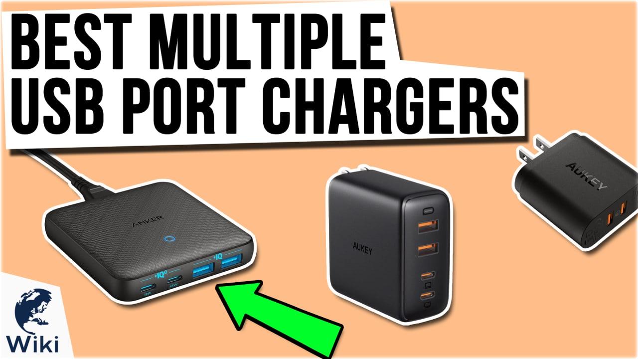 9 Best Multiple USB Port Chargers