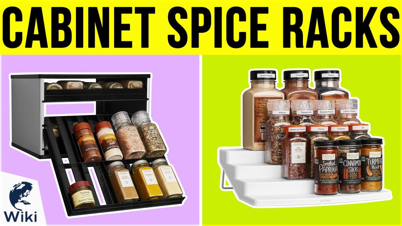10 Best Cabinet Spice Racks