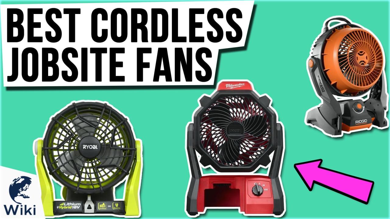 9 Best Cordless Jobsite Fans
