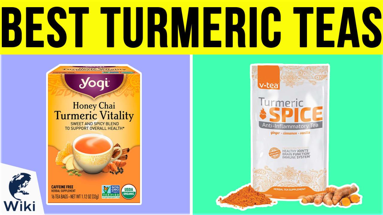 10 Best Turmeric Teas