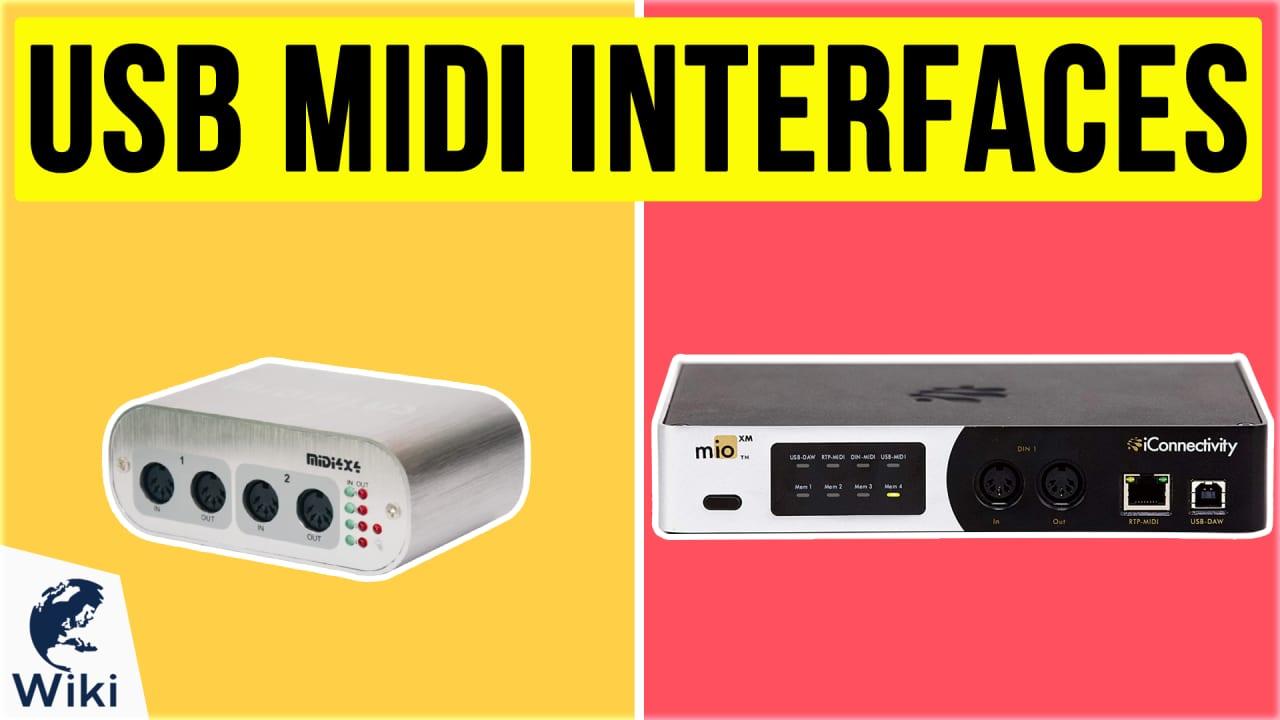 10 Best USB MIDI Interfaces