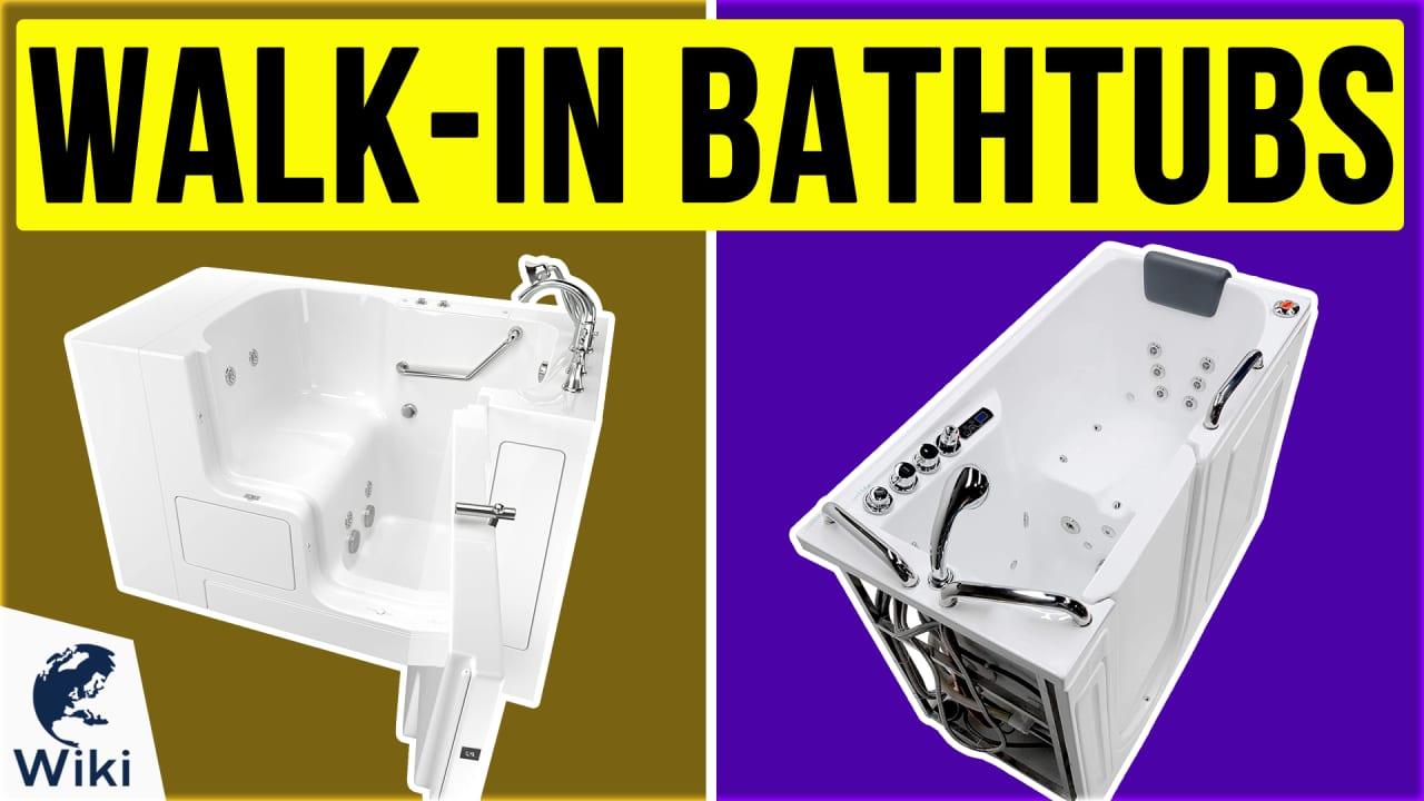 10 Best Walk-In Bathtubs