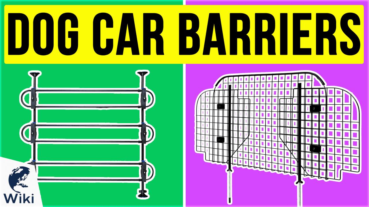 10 Best Dog Car Barriers