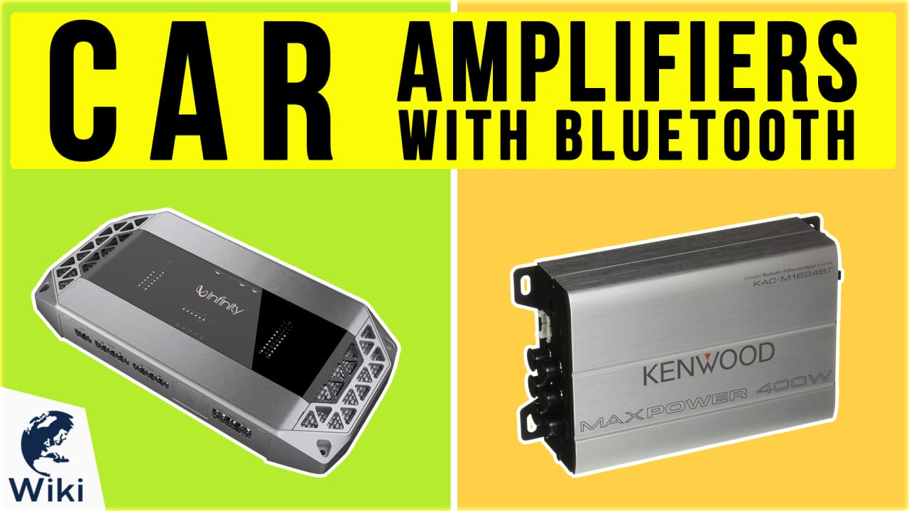 10 Best Car Amplifiers With Bluetooth