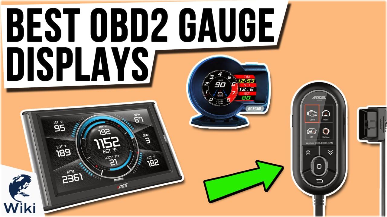 9 Best OBD2 Gauge Displays
