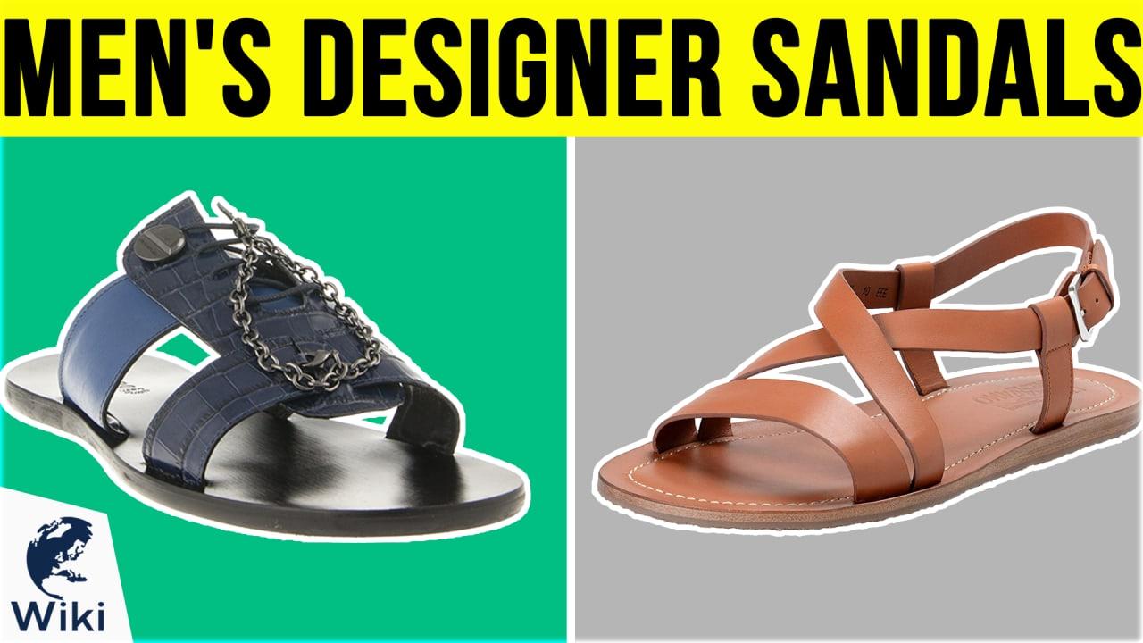 10 Best Men's Designer Sandals