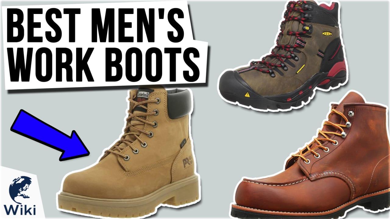 10 Best Men's Work Boots