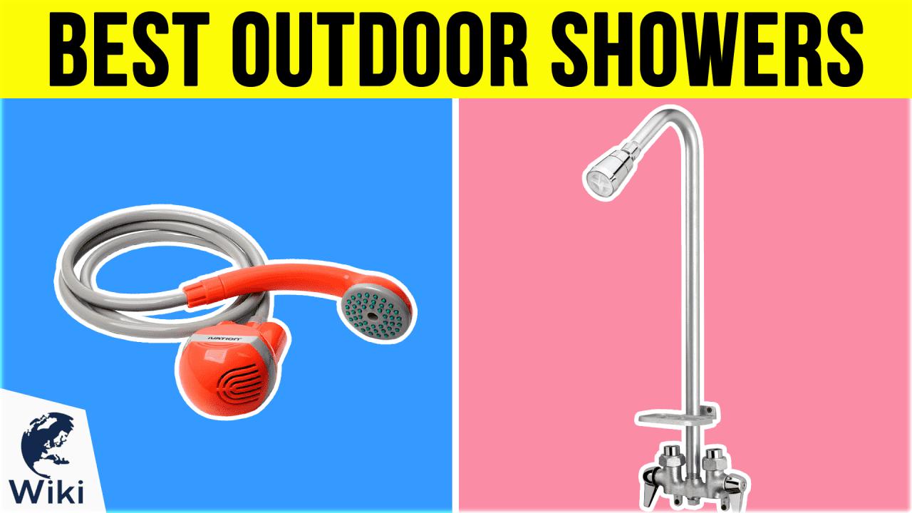 10 Best Outdoor Showers