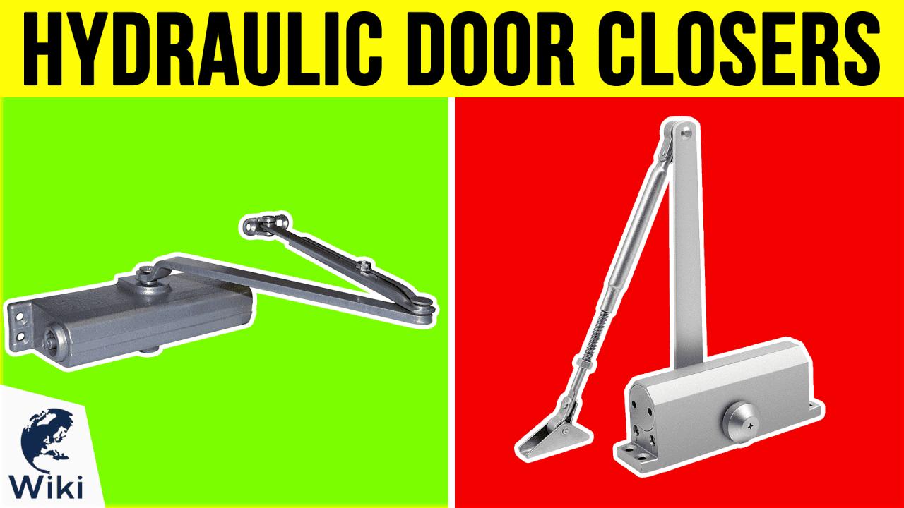 10 Best Hydraulic Door Closers