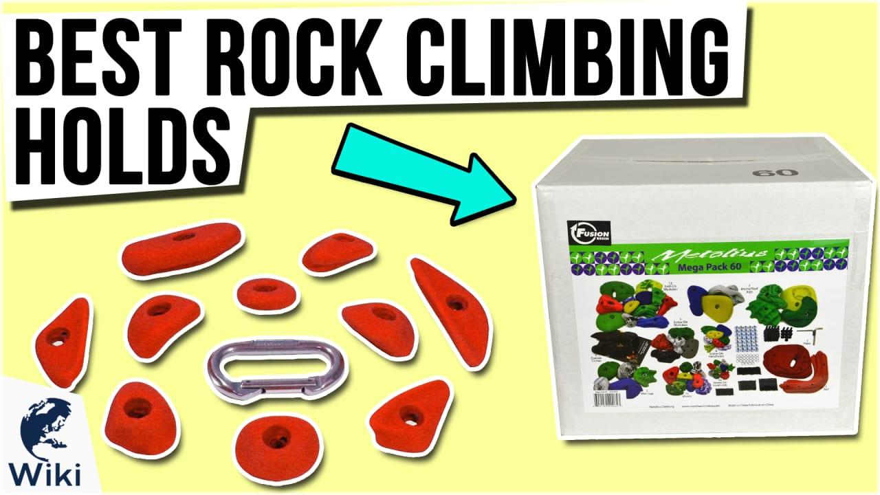 10 Best Rock Climbing Holds