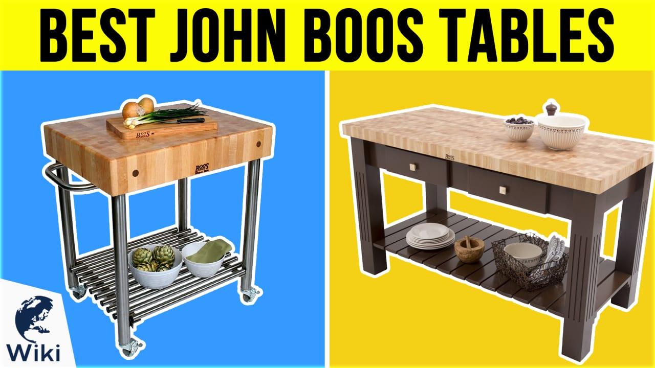 10 Best John Boos Tables