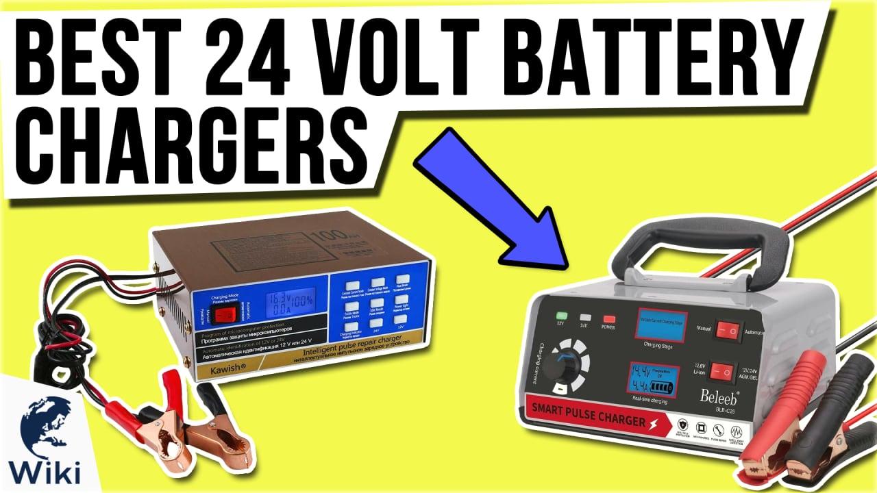9 Best 24 Volt Battery Chargers