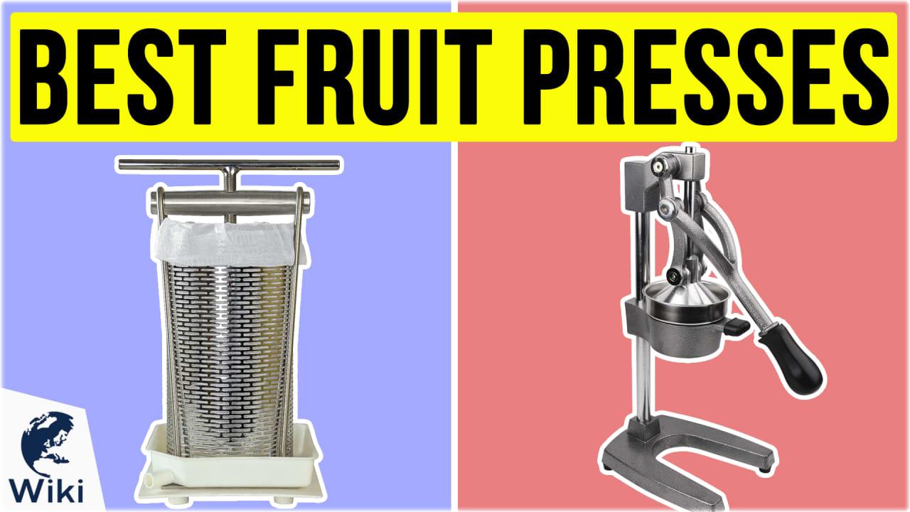 10 Best Fruit Presses