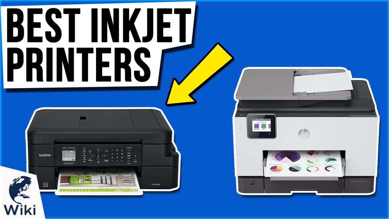 10 Best Inkjet Printers