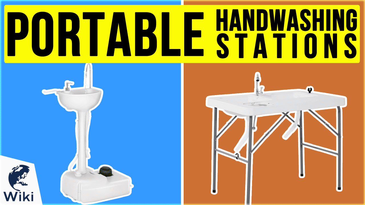 10 Best Portable Handwashing Stations