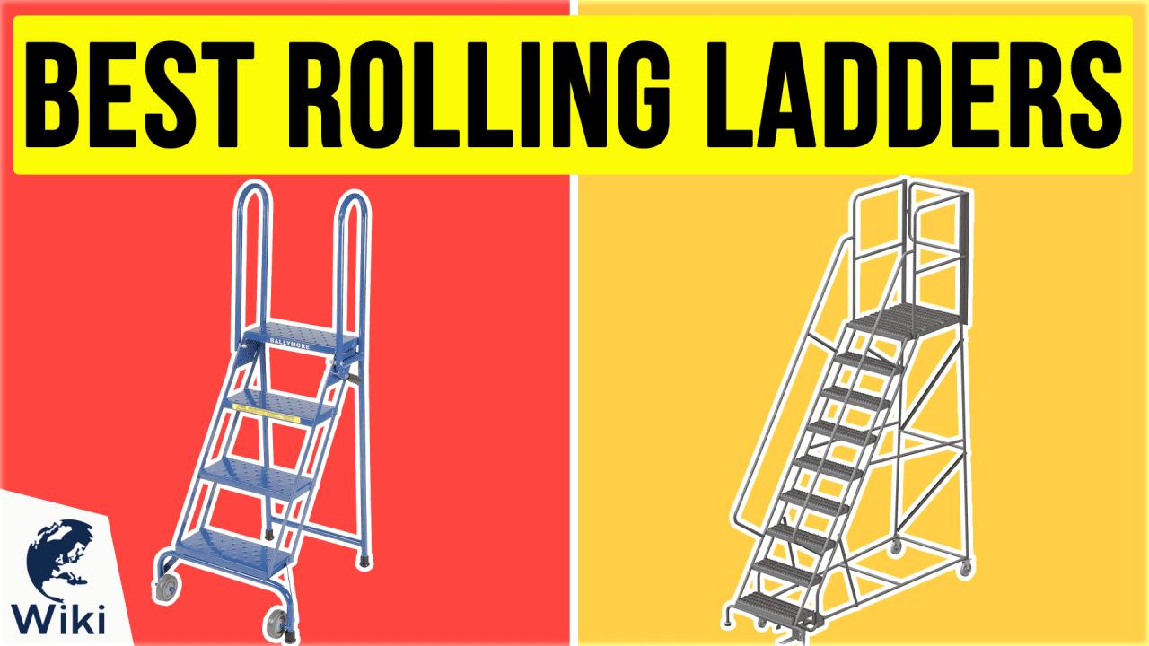 6 Best Rolling Ladders