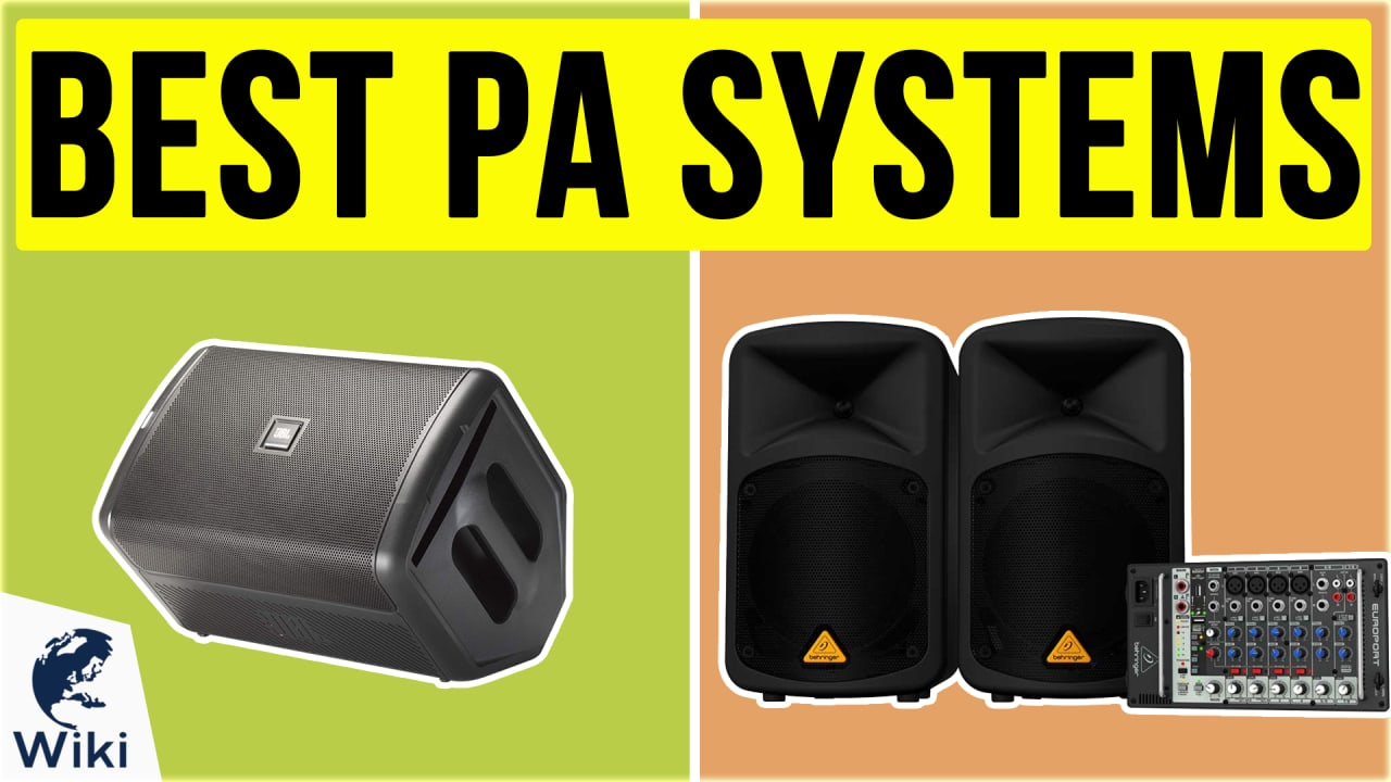 10 Best PA Systems