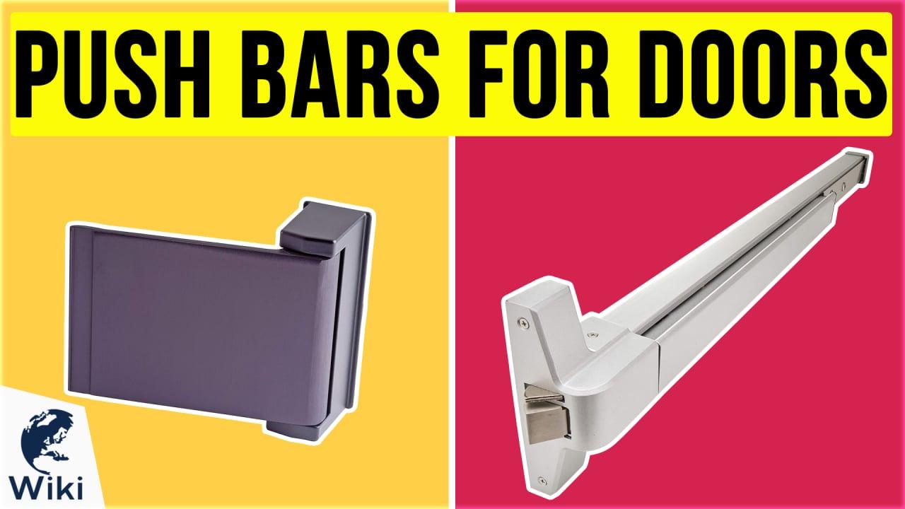 10 Best Push Bars For Doors
