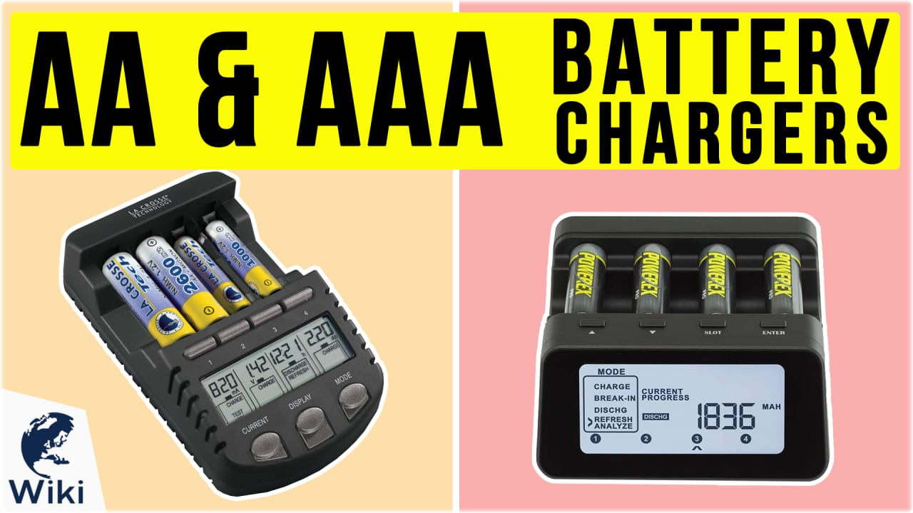 10 Best AA & AAA Battery Chargers