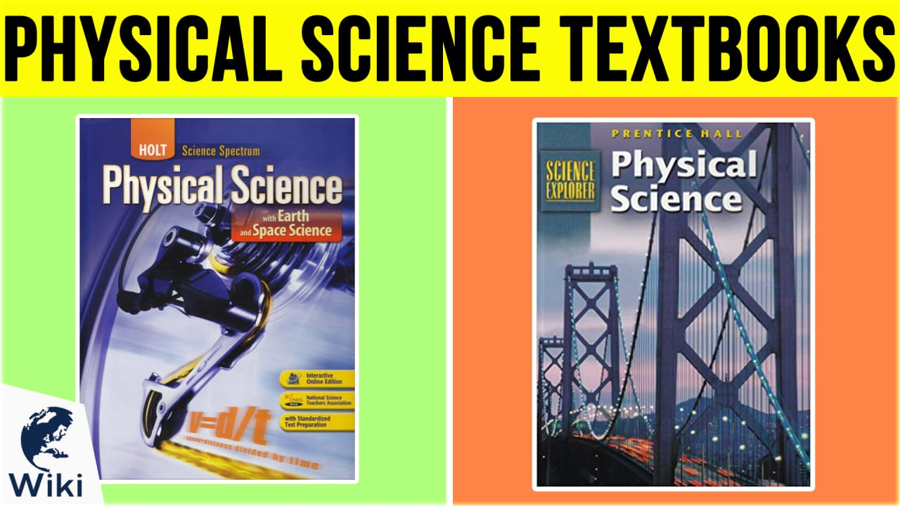 7 Best Physical Science Textbooks