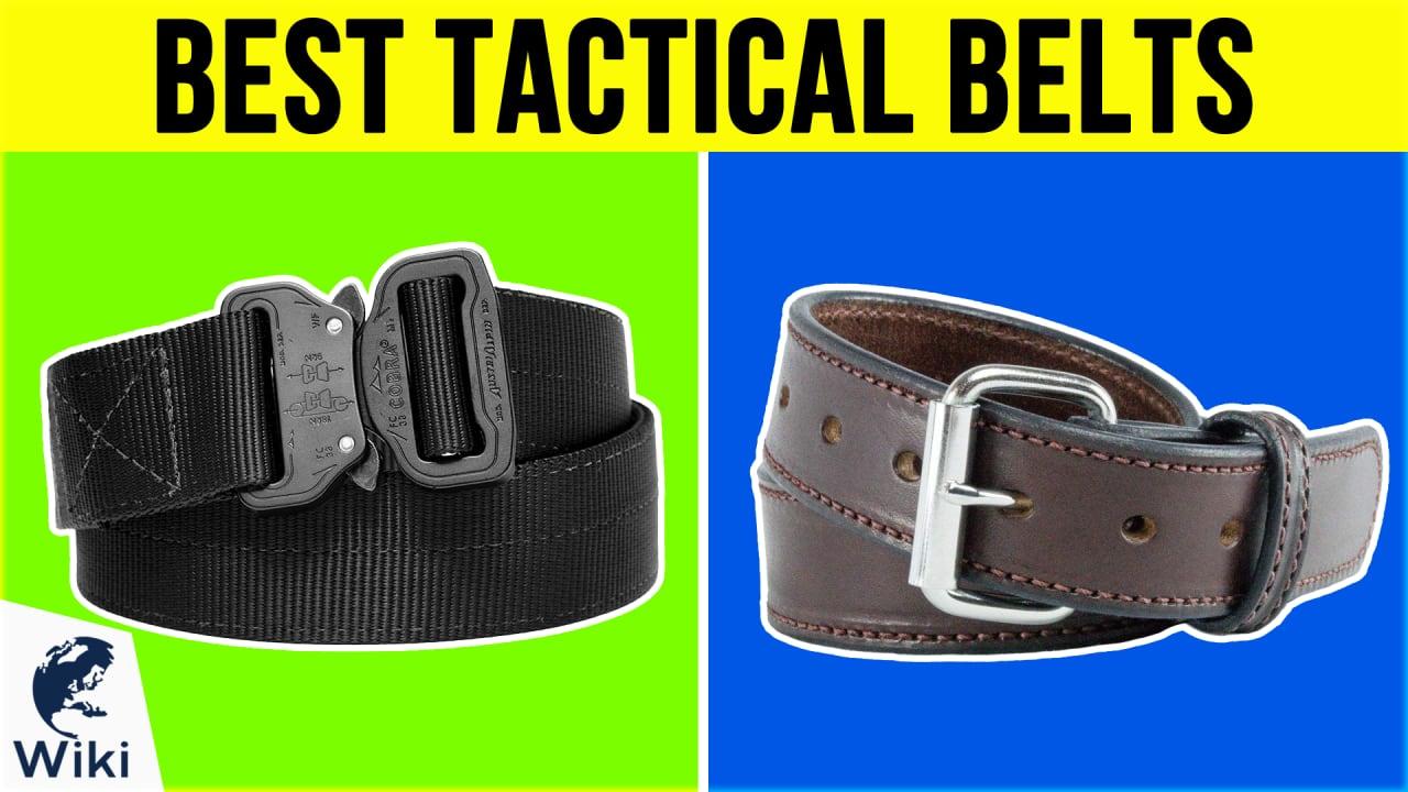 10 Best Tactical Belts