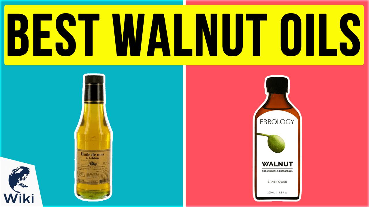 9 Best Walnut Oils