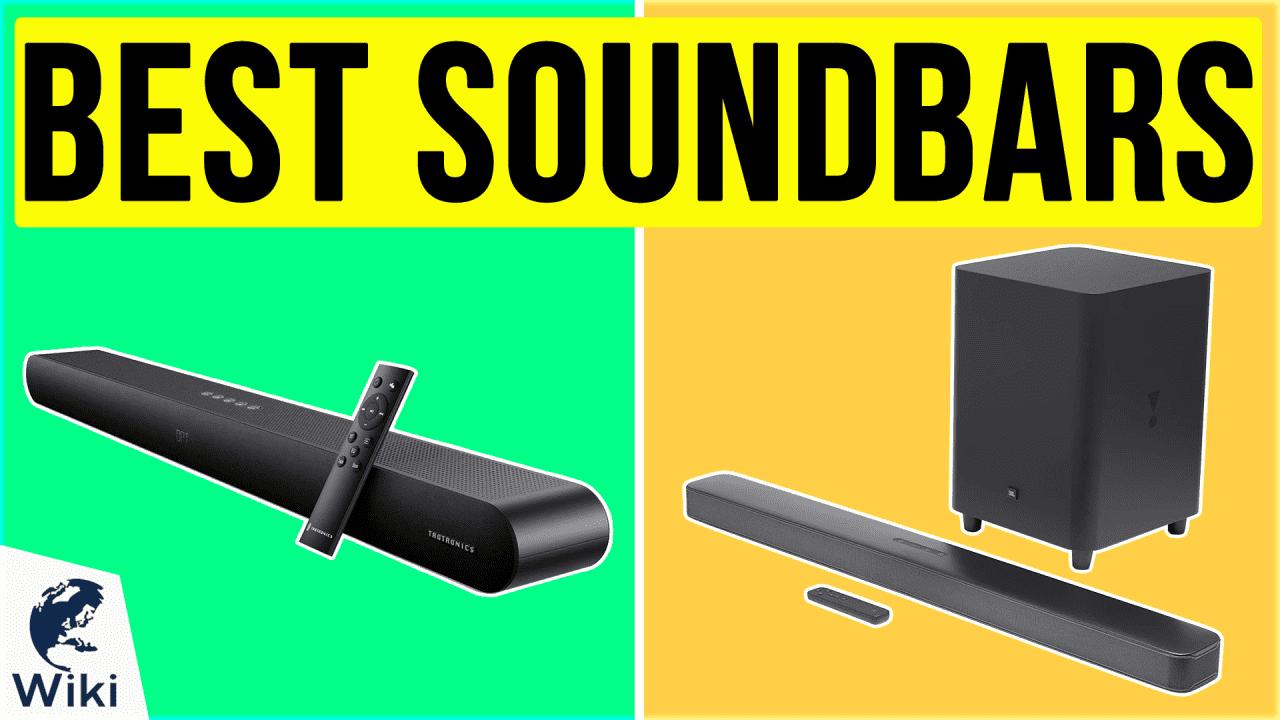 10 Best Soundbars