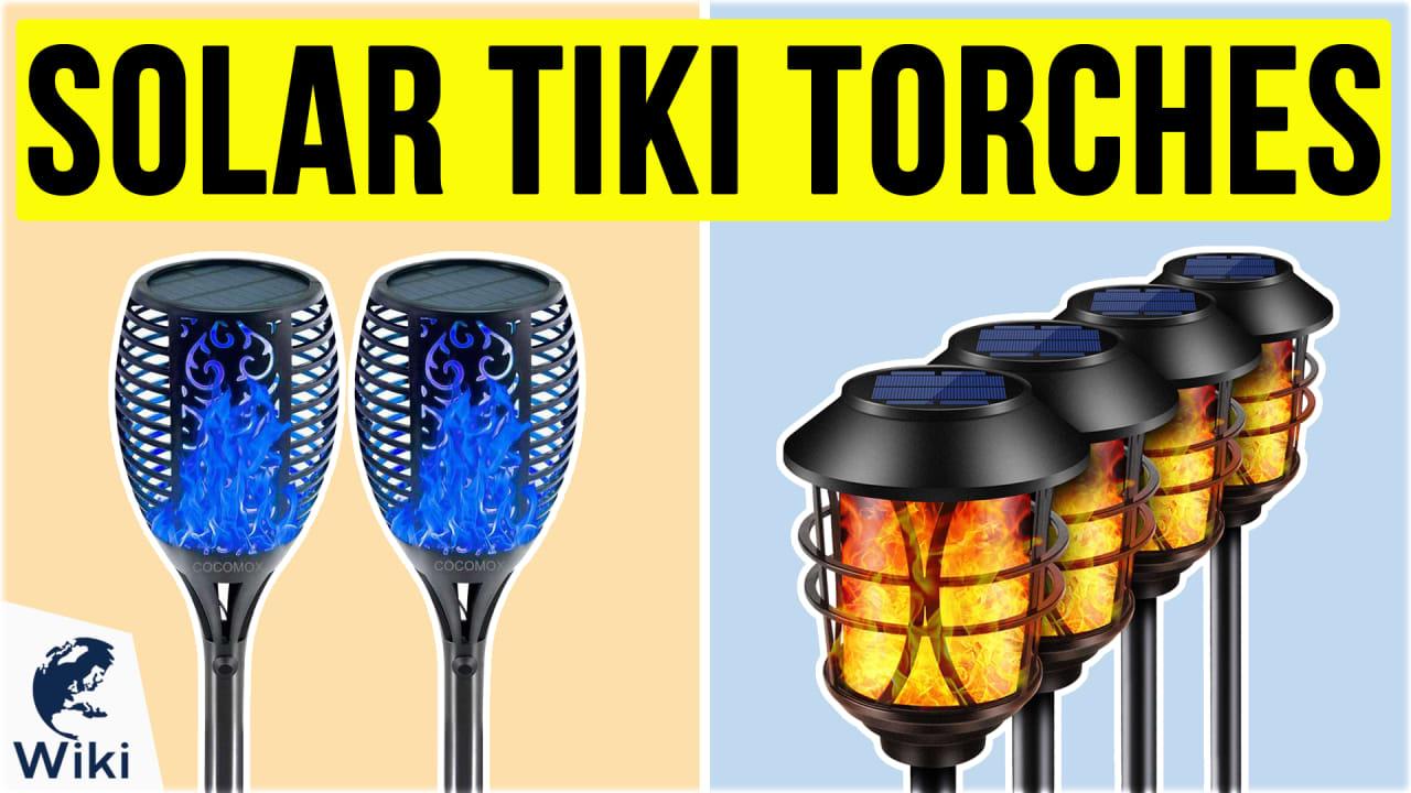10 Best Solar Tiki Torches